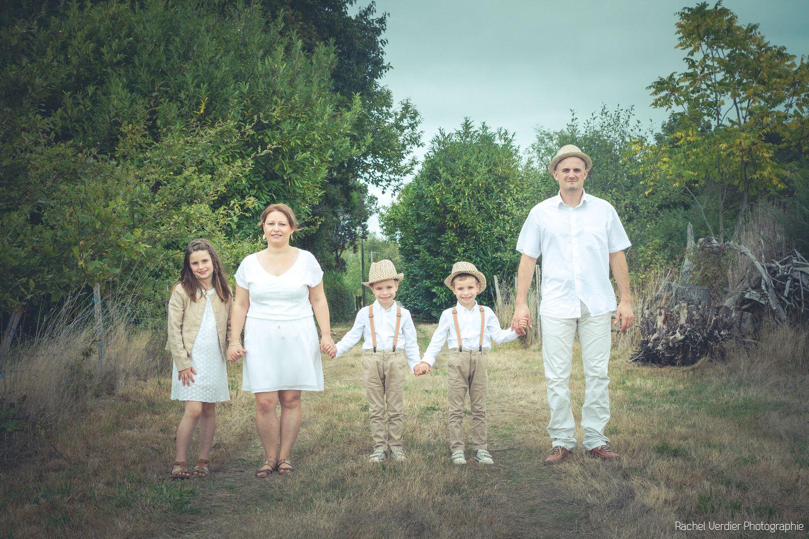 Flavie, Benjamin & leurs enfants