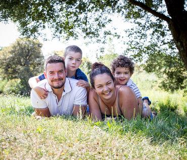 Axelle, Romain & leurs enfants
